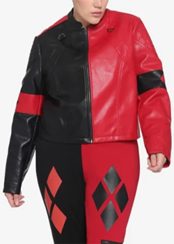Plus Size Harley Quinn Jacket Suicide Squad 2021