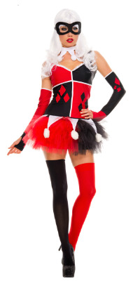 Plus 1x 2x 3x 4x Harley Quinn Costume