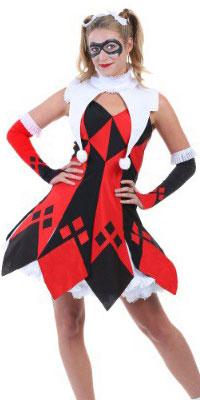 Plus Size Harley Quinn Dress