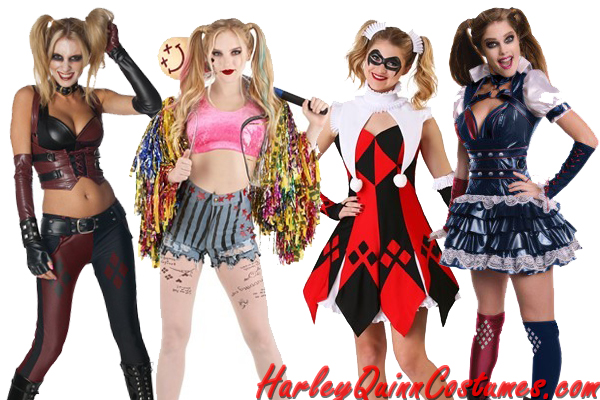 Harley Quinn Costume Ideas for Halloween