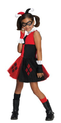 Kid Harley Quinn Costume for Girls