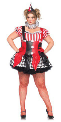 Plus Size Harley Quinn Costume