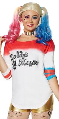 Daddy's Lil Monster Shirt Varsity Harley