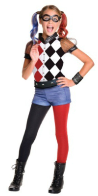 Child DC Superhero Girls Harley Quinn Costume