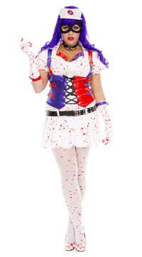 Nurse Harley Quinn Arkham Asylum