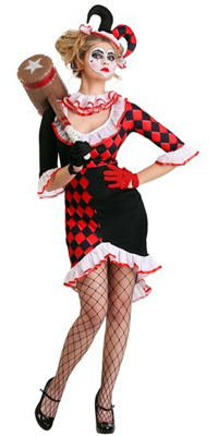 Old Fashioned Retro Harley Quinn Dress