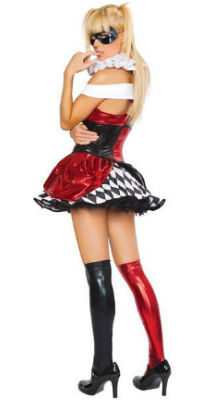 Sexy Harlequin Costume Dress