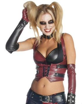Best Sale Bargains on Sexy Harley Quinn Halloween costumes.
