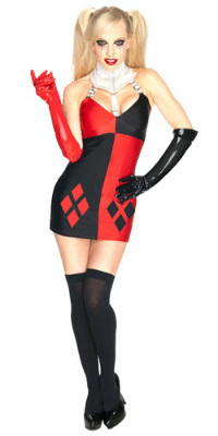 Sexy Villain Harley Dress