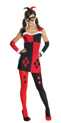 Cute Teen Harley Quinn Costume